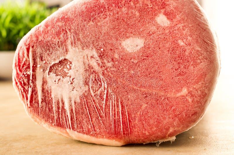 Carne congelada imagem de stock