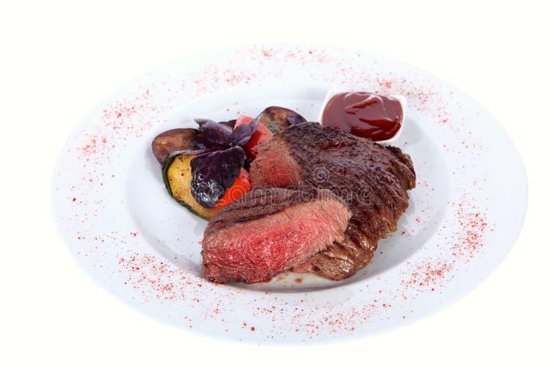 Carne cotta fotografie stock libere da diritti