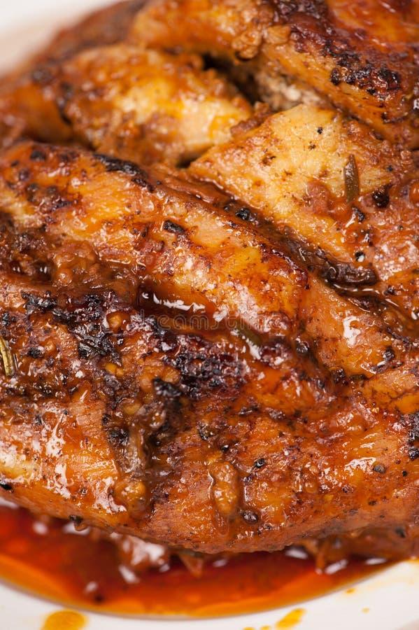 Carne cozida imagens de stock