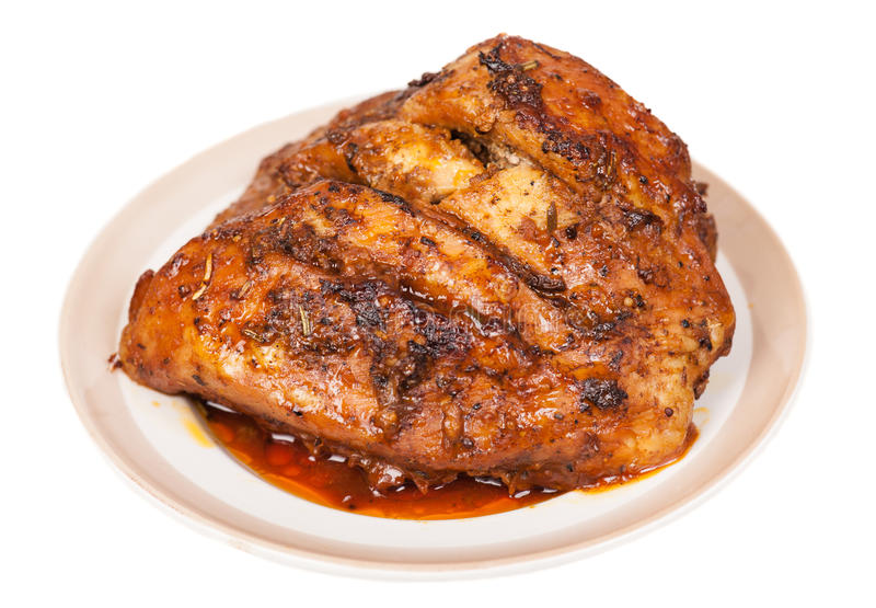 Carne cozida foto de stock royalty free