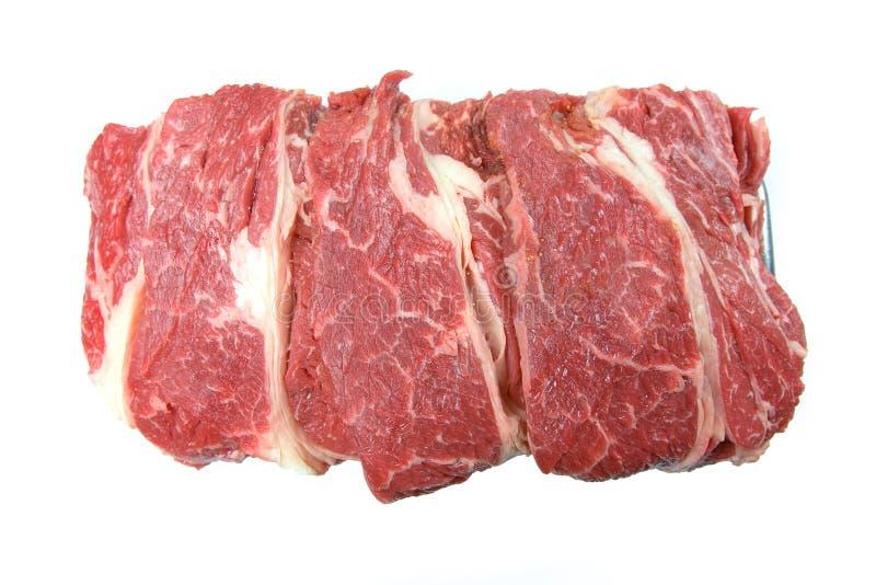 Carne crua fotografia de stock royalty free
