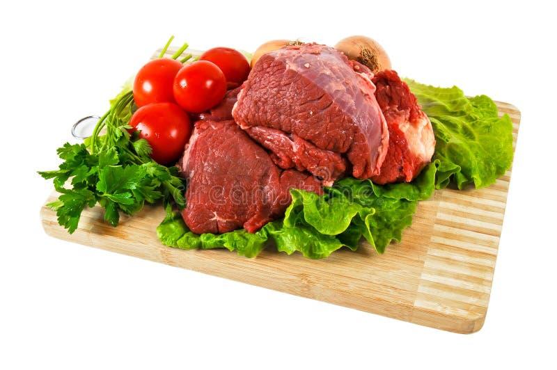 Carne crua imagem de stock