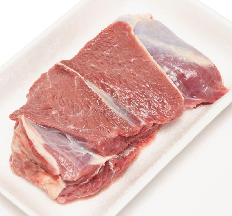 Carne crua do beaf fotos de stock