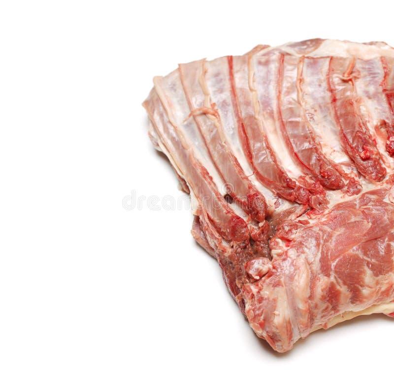 Carne crua do cordeiro foto de stock royalty free