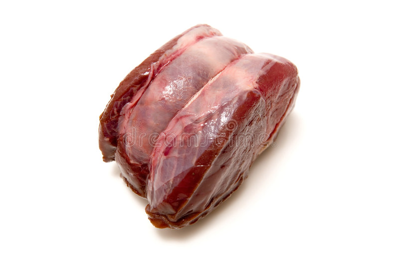 Carne crua do venison imagem de stock