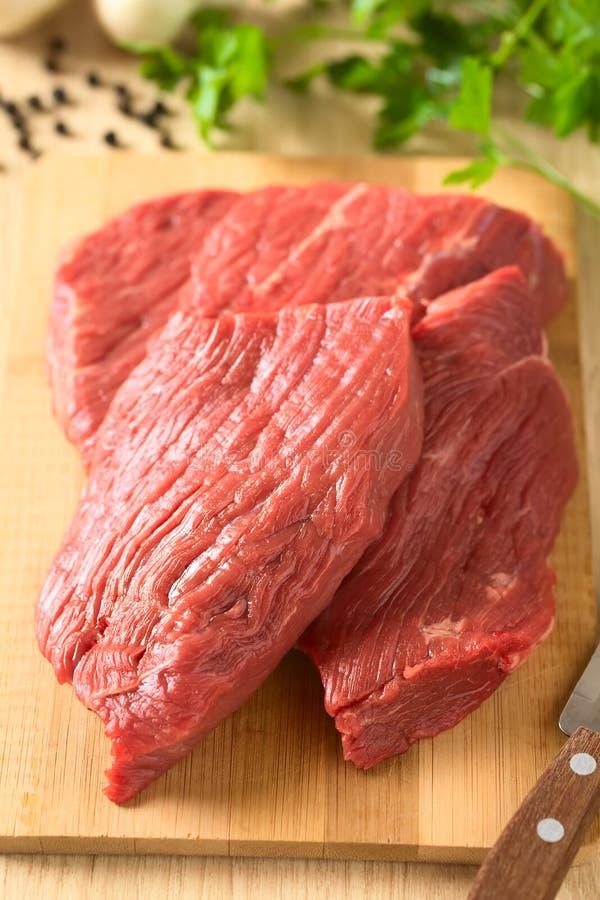 Carne crua fresca da carne imagem de stock
