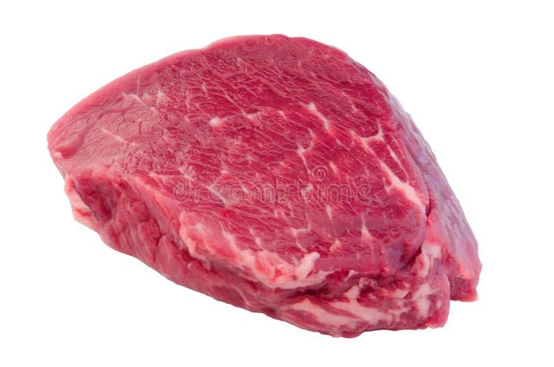 Carne crua fresca da carne para o bife do lombo fotografia de stock royalty free