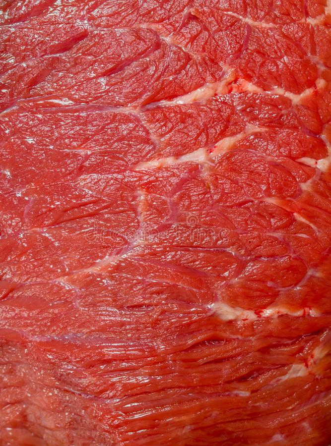 Carne crua A textura da carne foto de stock