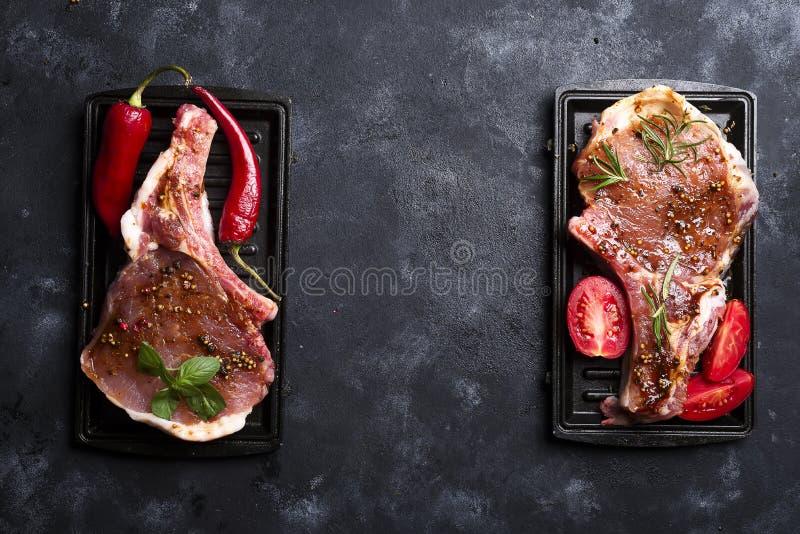 Download Carne Cruda, Filete De Carne De Vaca Foto de archivo - Imagen de fork, beef: 100526394