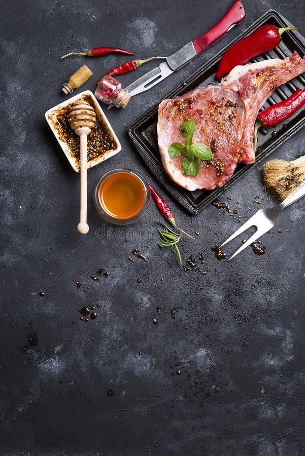 Download Carne Cruda, Filete De Carne De Vaca Foto de archivo - Imagen de cena, alimento: 100529004