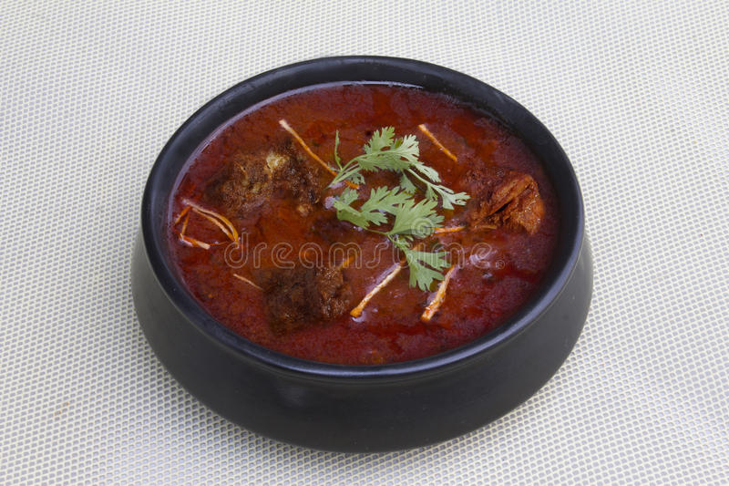Carne de carneiro Rogan Josh Curry imagens de stock