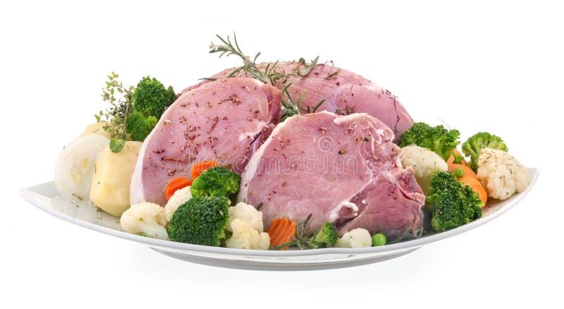 Carne de cerdo fresca foto de archivo libre de regalías