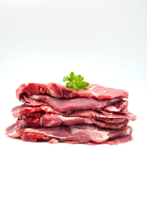 Carne de cerdo sin procesar foto de archivo libre de regalías