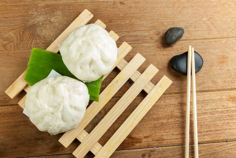 Carne de porco chinesa dos bolos cozinhada imagens de stock royalty free