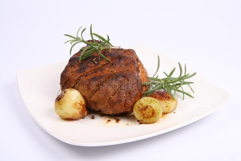 Carne de porco do assado fotos de stock royalty free