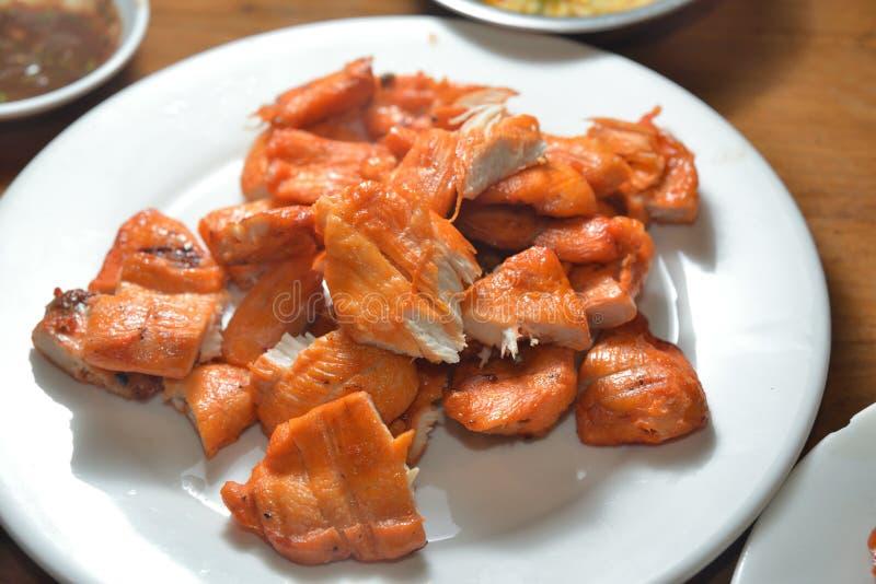 Carne de porco do BBQ e carne de porco roasted fotografia de stock royalty free
