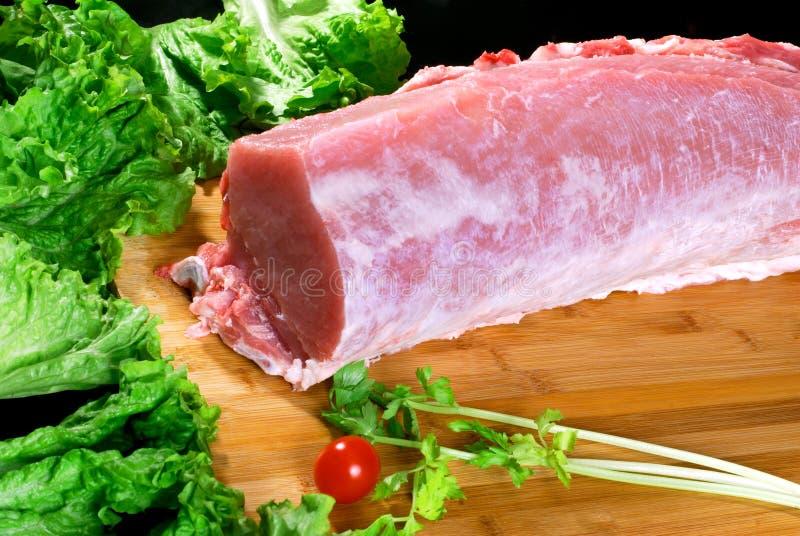Carne de porco magra fotografia de stock royalty free