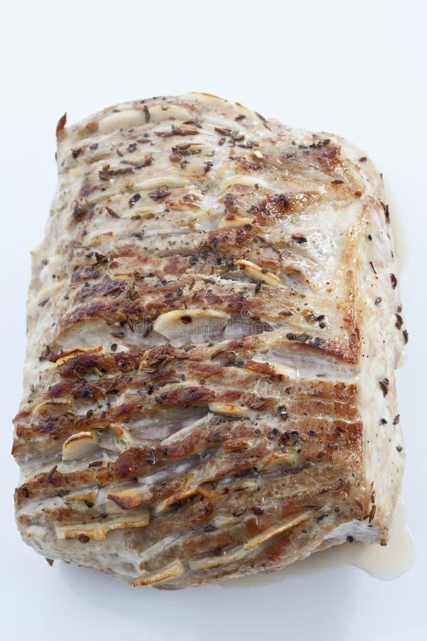 Carne de porco Roasted, estilo bávaro tradicional foto de stock royalty free