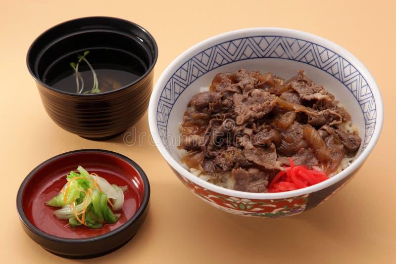 Carne de porco Shogayaki imagem de stock royalty free
