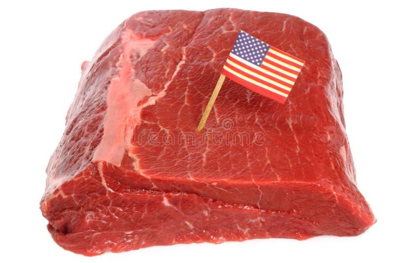 Carne de vaca americana foto de archivo libre de regalías