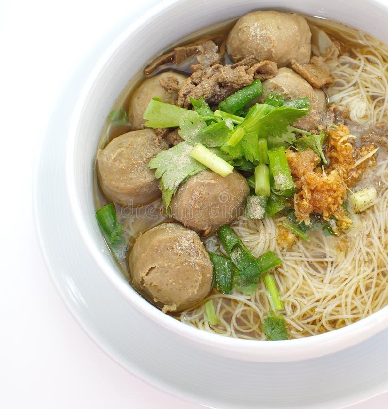 Carne de vaca Stew Noodle Soup imagenes de archivo