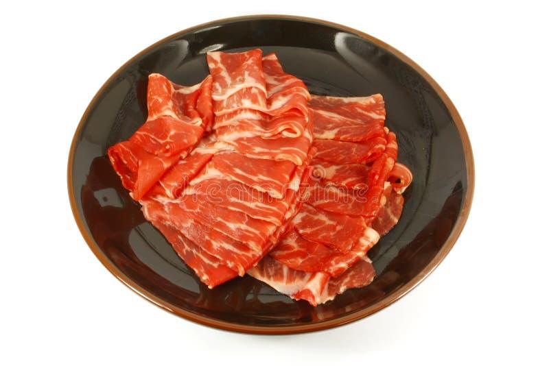 A carne de Wagyu descasca a carne superior imagens de stock royalty free