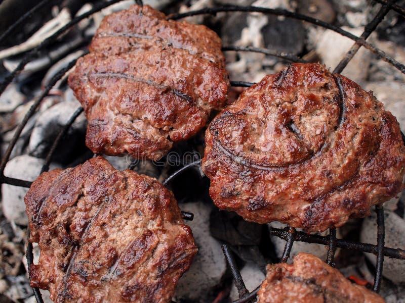 Carne del Bbq immagini stock
