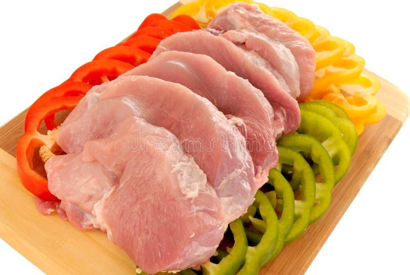 Carne del filetto fotografie stock libere da diritti