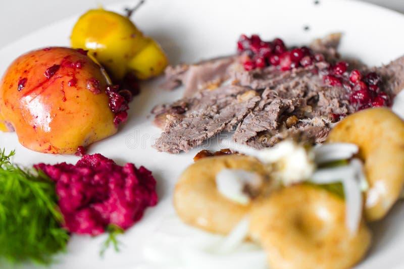 Carne dell'anatra fotografia stock