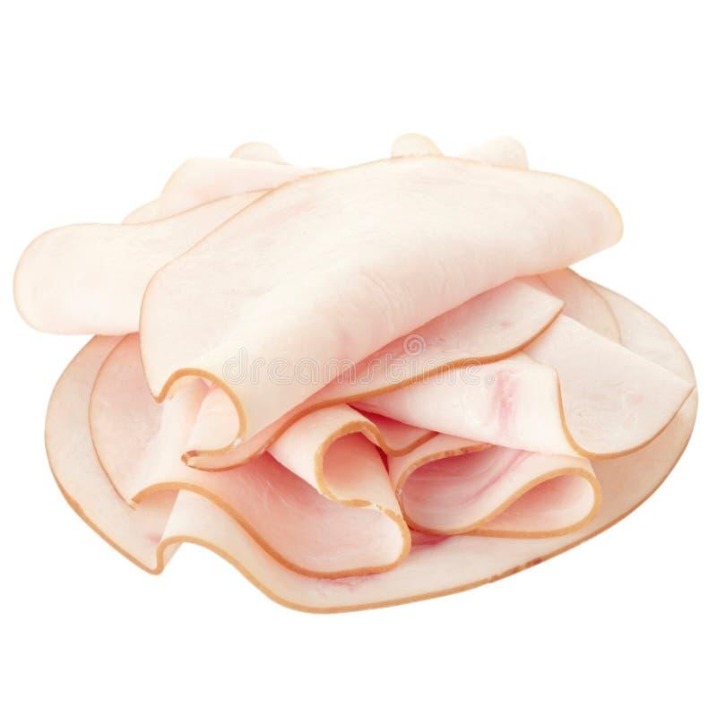 Carne della Turchia affettata fotografia stock libera da diritti