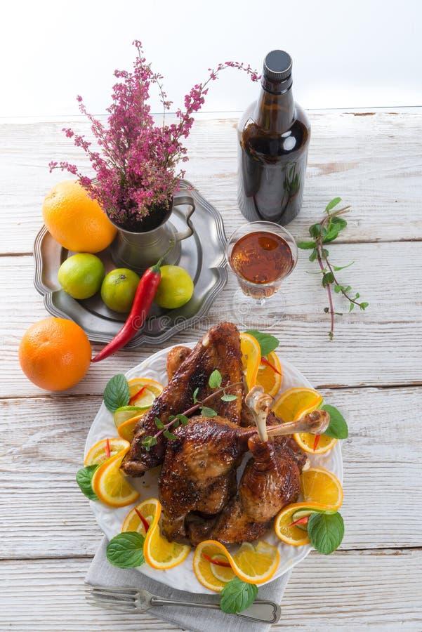 Carne delle oche per il giorno di St Martin fotografie stock libere da diritti