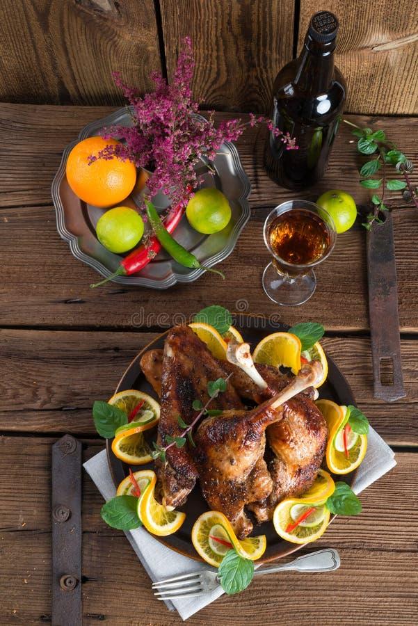 Carne delle oche per il giorno di St Martin immagine stock