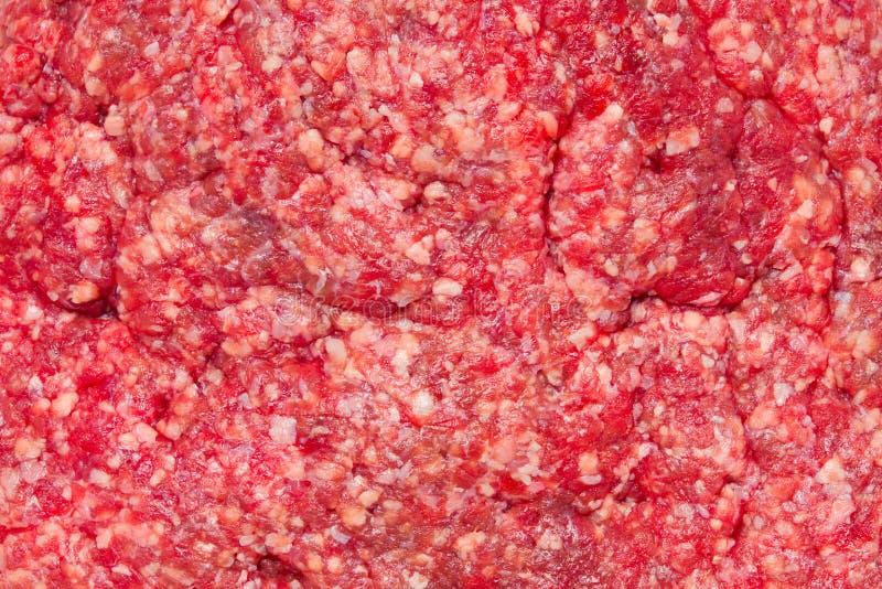 Carne desbastada crua isolada no fundo branco fotos de stock royalty free