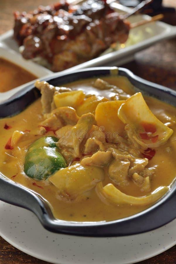 Carne di maiale del curry fotografie stock libere da diritti