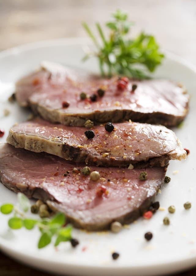 Carne do assado imagem de stock