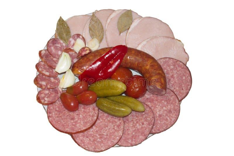Download Variedade da salsicha foto de stock. Imagem de pequeno - 29848982