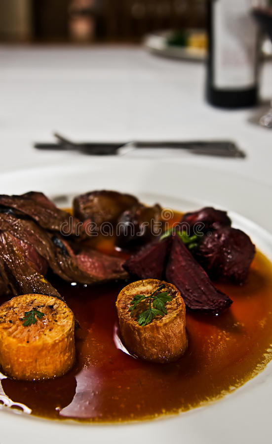 Carne do canguru fotografia de stock