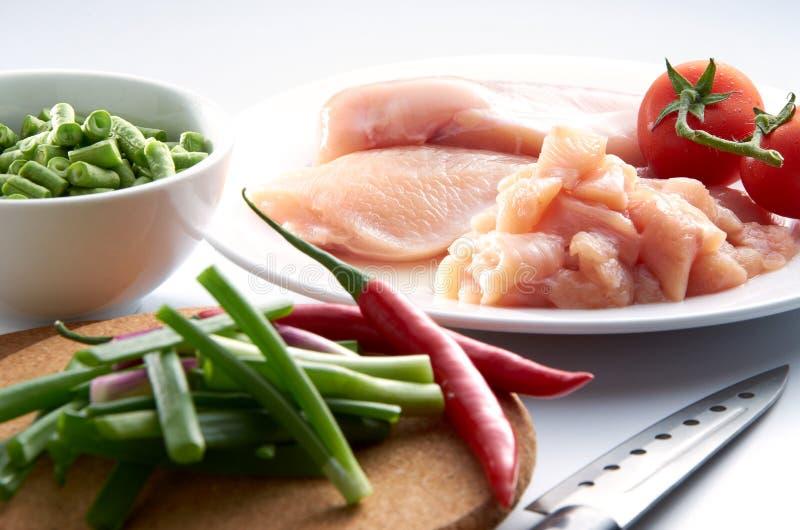 Carne do peito de galinha fotografia de stock royalty free
