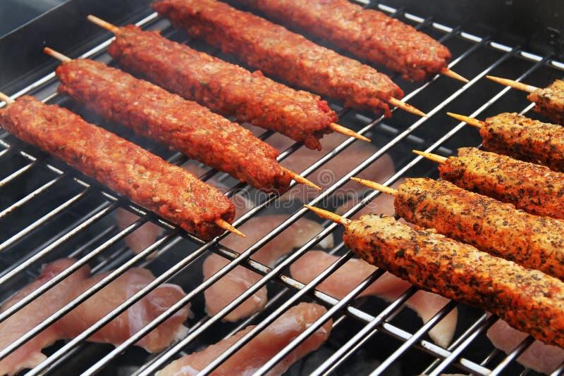 Carne Flavoured no assado home imagem de stock royalty free