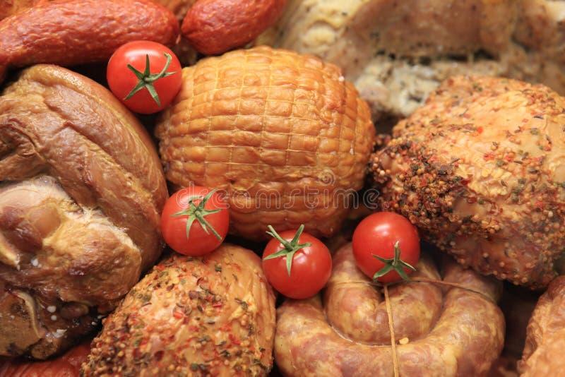 Carne fredda. fotografie stock