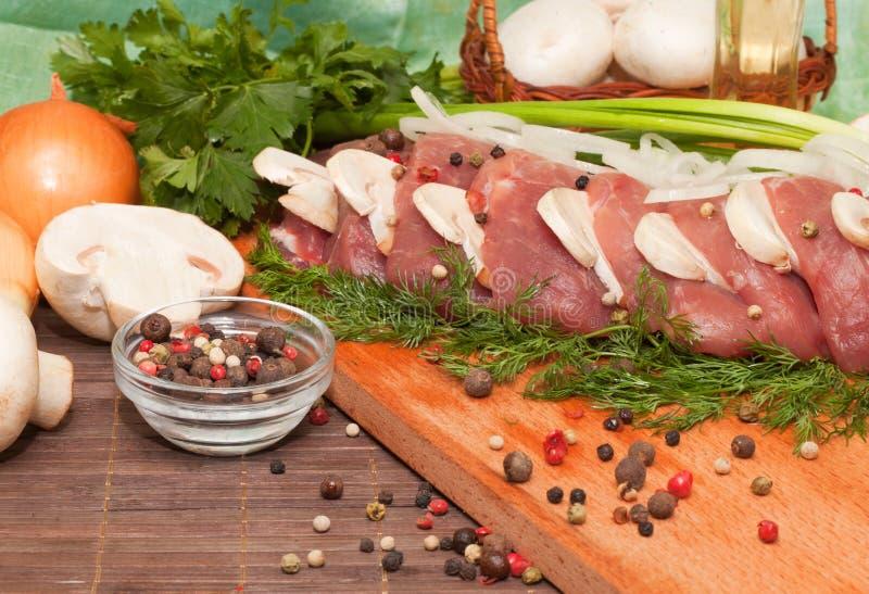 Carne fresca imagens de stock