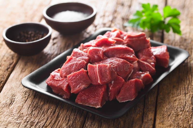Carne fresca de bovino fotos de stock royalty free