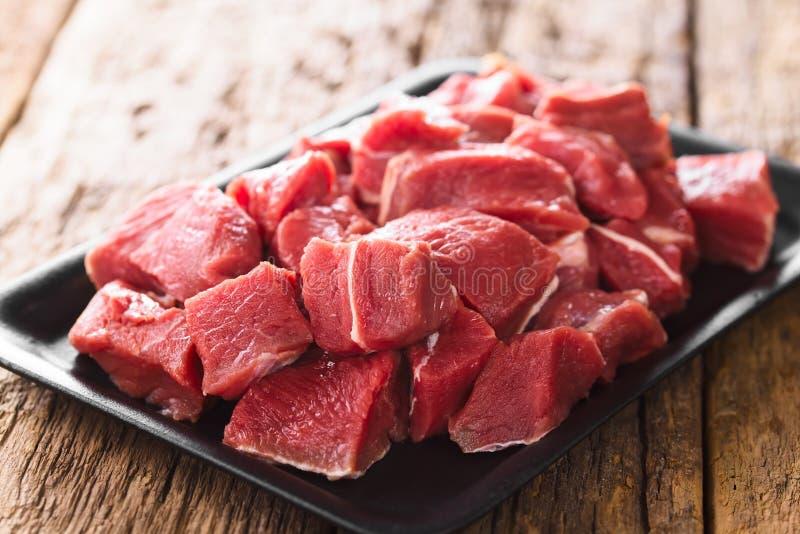 Carne fresca de bovino imagens de stock royalty free