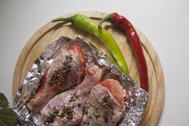 Carne fresca del pollo imagen de archivo libre de regalías
