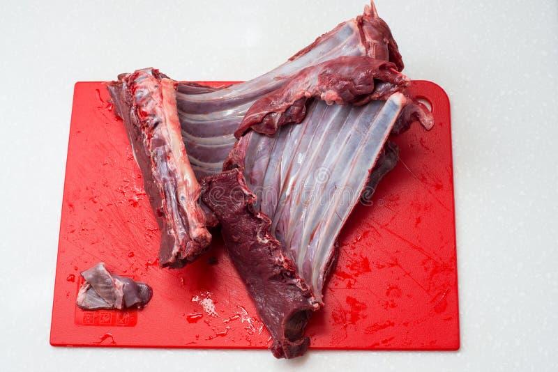 Carne fresca y cruda foto de archivo libre de regalías