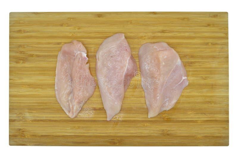 Carne fresca y limpia de la pechuga de pollo Gastrónomo, ultramarinos imagen de archivo libre de regalías