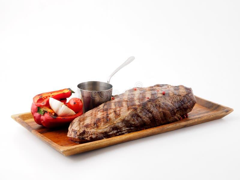 Carne grelhada foto de stock