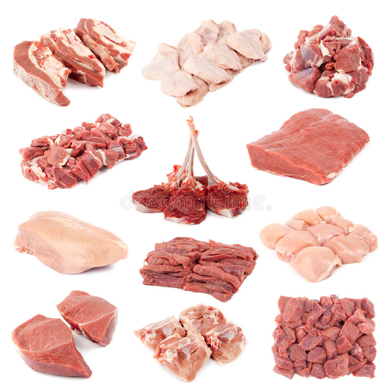 Carne grezza fotografie stock libere da diritti