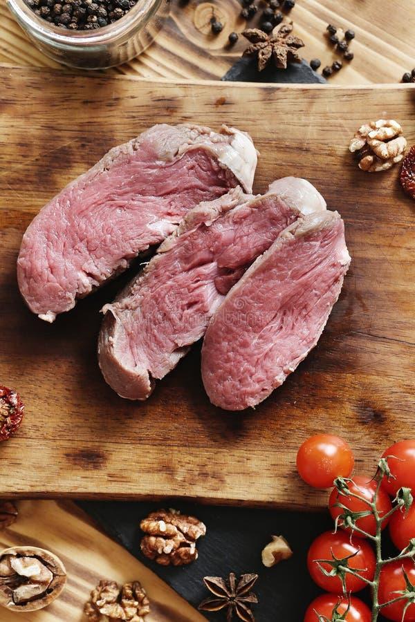Carne grezza immagine stock