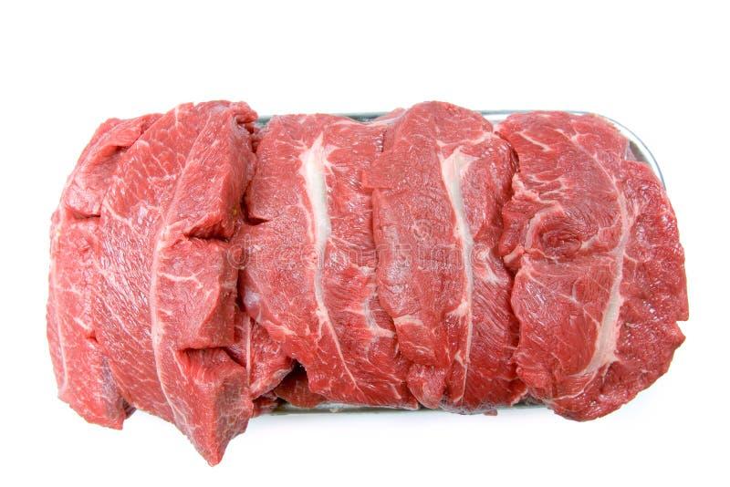 Carne grezza colta per cucinare fotografia stock libera da diritti